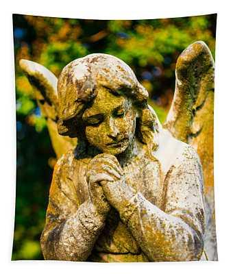 Memphis Elmwood Cemetery - Praying Angel Tapestry