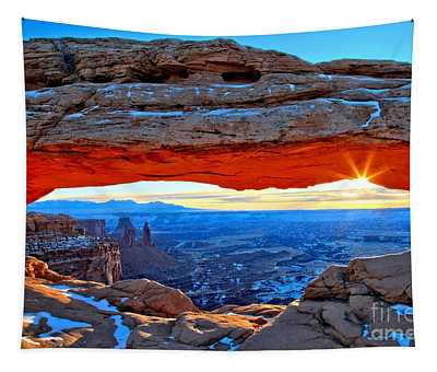 Mesa Arch Sunrise Tapestry