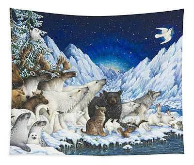 Message Of Peace Tapestry