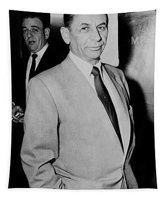 Meyer Lansky - The Mob's Accountant 1957 Tapestry