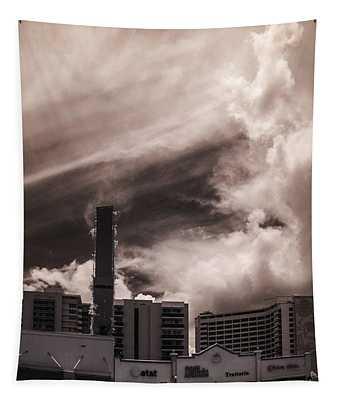 Miami Beach Sky Tapestry