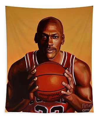 Michael Jordan 2 Tapestry
