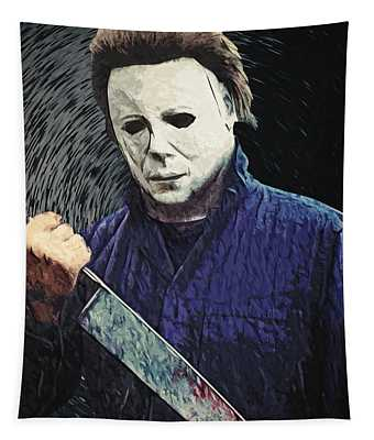 Michael Myers  Tapestry