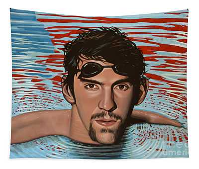 Michael Phelps Tapestry