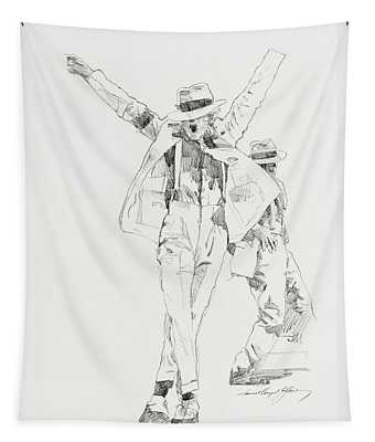Michael Smooth Criminal Tapestry