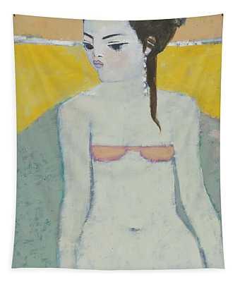 Michela Again Oil On Board Tapestry