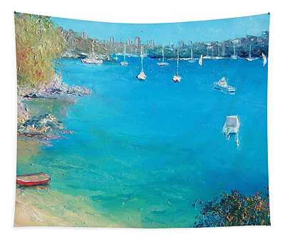 Middle Harbour Sydney Tapestry