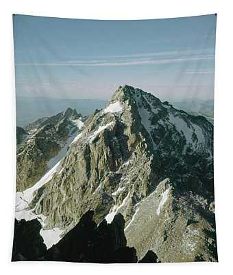 T-209207-middle Teton From Grand Teton Tapestry