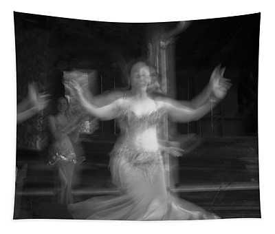 Mideastern Dancing 7 Tapestry