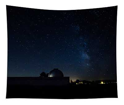 Milky Way And Observatory Tapestry