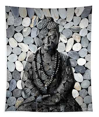 Mineral Buddha Tapestry