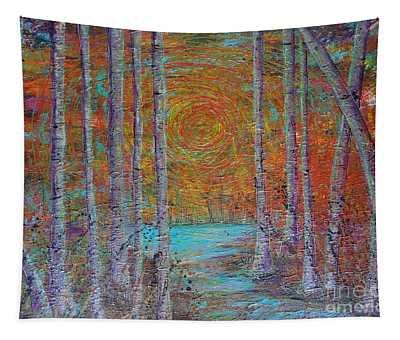 Minnesota Sunset Tapestry