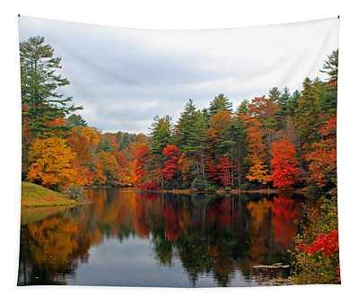 Mirrored Lake Tapestry