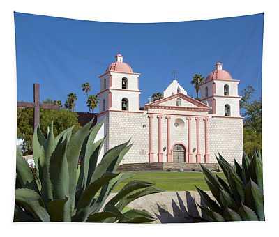 Mission Santa Barbara Tapestry