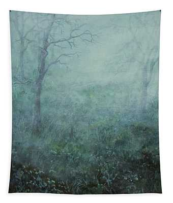 Mist On The Meadow Tapestry