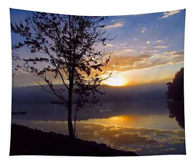 Misty Reflections Tapestry