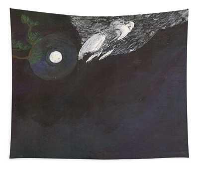 Misty Twinight Tapestry