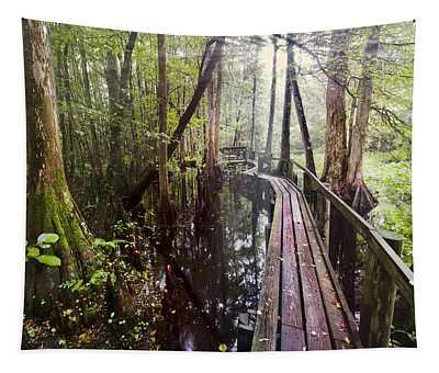 Misty Walk Tapestry