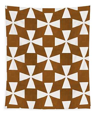 Mocha Twirl Tapestry