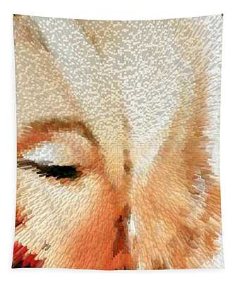 Modern Marilyn - Marilyn Monroe Art By Sharon Cummings Tapestry