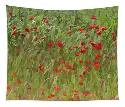 Monet Poppies IIi Tapestry