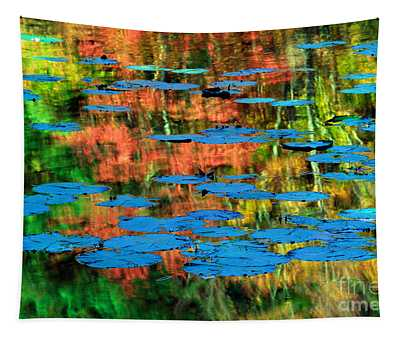 Monet Reflection Tapestry