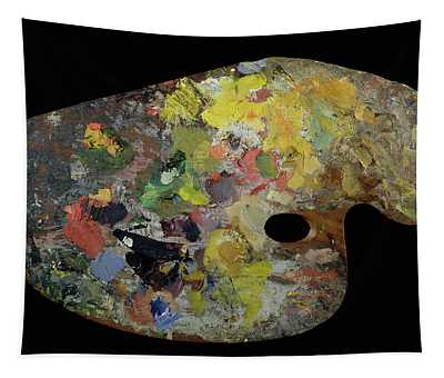 Palette Belonging To Claude Monet Tapestry