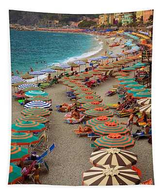 Monterosso Beach Tapestry