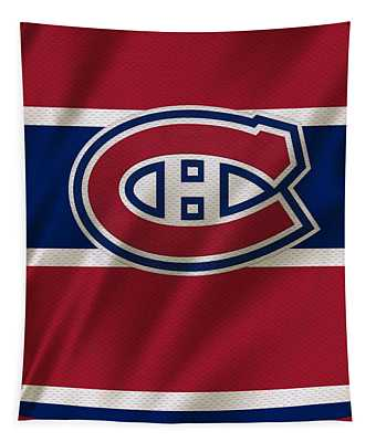 Montreal Canadiens Uniform Tapestry