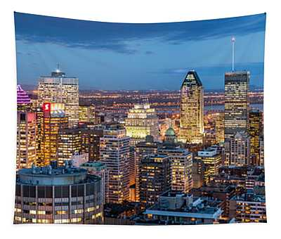 Montreal Panorama Tapestry