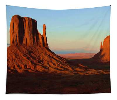 Monument Valley 2 Tapestry