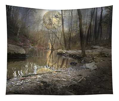 Moon Camp Tapestry