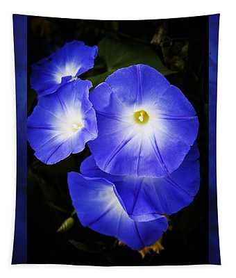 Moonglow On Blue Tapestry