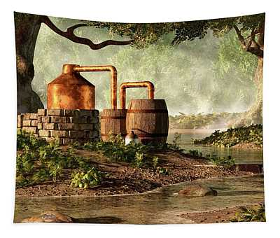 Moonshine Still 1 Tapestry