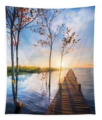 Morning Dreams Tapestry