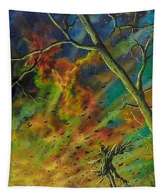 Morning Flight Tapestry