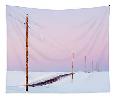 Morning Road Tapestry