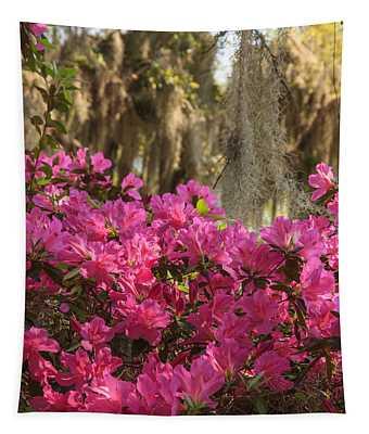 Moss Over Azaleas Tapestry