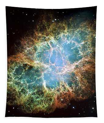 Most Detailed Image Of The Crab Nebula Tapestry