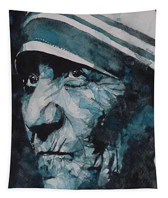 Mother Teresa Tapestry