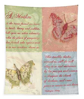 Mothers Day Butterfly Tapestry