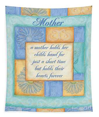 Mother's Day Spa Card Tapestry
