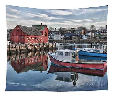 Motif 1 Sky Reflections Tapestry