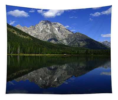 Mount Moran And String Lake Tapestry