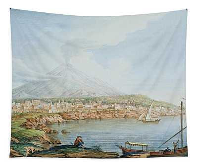 Mount Vesuvius, Plate 36 From Campi Tapestry