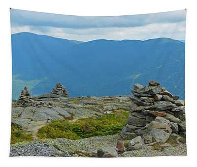 Mount Washington Rock Cairns Tapestry