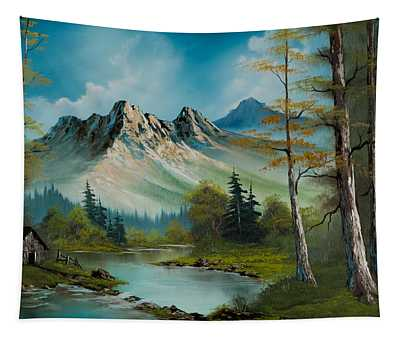 Mountain Retreat Tapestry