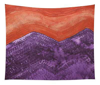 Mountain Majesty Original Painting Tapestry