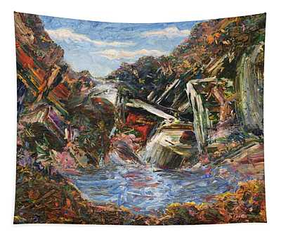 Mountain Pool Tapestry