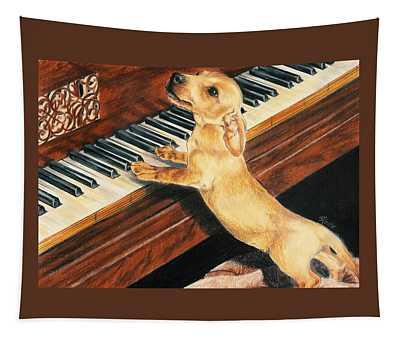 Mozart's Apprentice Tapestry